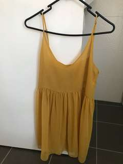One Teaspoon Mustard Beach/swim dress - S/8