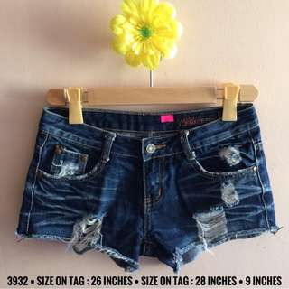 3932 DENIM SHORTS