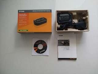 DLINK USB MULFUNCTION PRINT SERVER DPR 1020