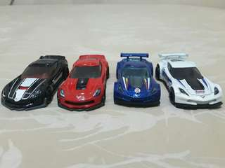 Asstd. Hotwheels Corvette Collection