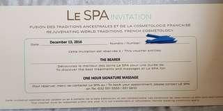 Luxurious Massage