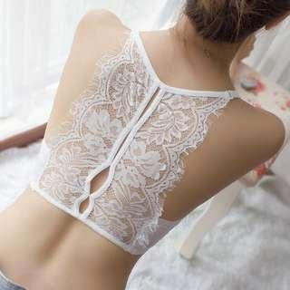 蕾絲內衣 bra 無鋼圈內衣 👙胸圍 內衣 美背 bra  32abc-36abc plz whatapps 55922066