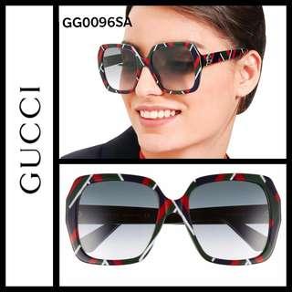 Gucci GG0096SA square acetate sunglasses 太陽眼鏡