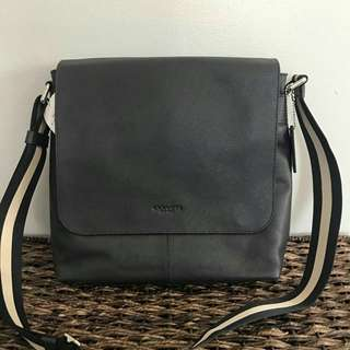 Coach Charles Small Messenger in Midnight