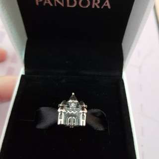 Pandora Castle and Crown Charm
