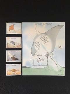 安哥拉郵票十小型張