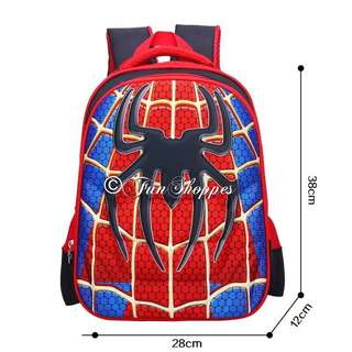 Spiderman Backpack/School Bag