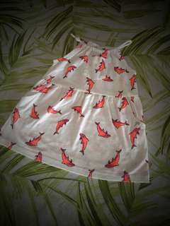 Pretty Baby Girl Dress Zara 🐬dolphin