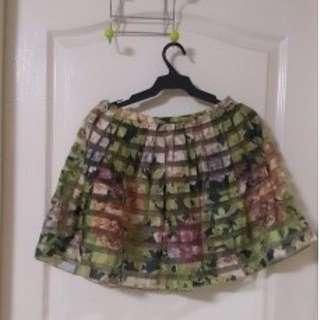 Zara Floral skirt, Small