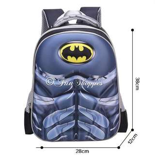 Batman Backpack/School Bag
