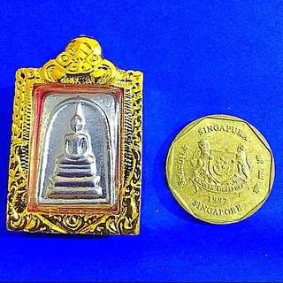 Lp Yai Ngern Leklai Somdej Amulet (small size)