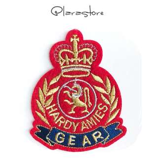 Bn badge iron/sew on patch