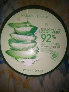 nature republik aloevera shooting gel 100% ori