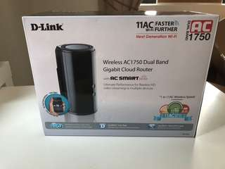 D Link Router 11AC - 1750 dual band