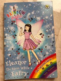 Eleanor the Snow White fairy rainbow magic