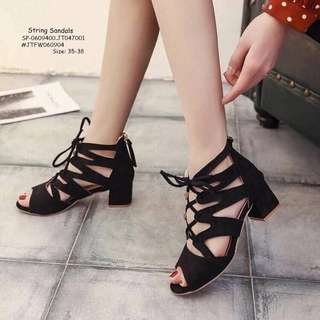 STRING SANDALS Size: 35,36,37,38,39 Adjust 1 Size  Price : 670