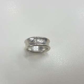 Tiffany & co ~ 1837 Ring sterling silver medium