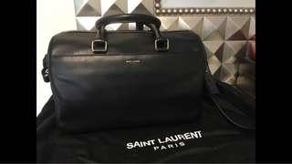 Saint Laurent duffle 6 calf leather bag