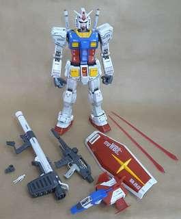 Bandai Gundam 高達 模型 MG 1/100 rx-78-2 Ver 3.0,請留意交收時間與地點