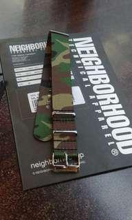 Neighborhood Nato 錶帶 Wtaps descendant madness