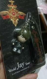 Jay chou world tour concert key chain 周杰倫世界巡迴演唱會鎖鑰扣(電話繩)