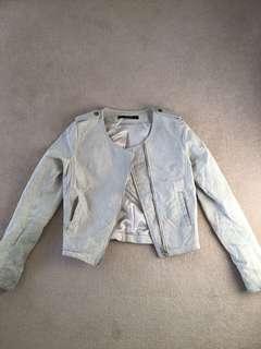 Stella Mc Cartney Suede Jacket