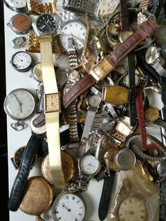 Vintage watches lot from Europe has just arrived