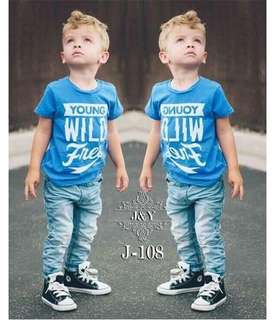 Boy Set 2pcs Korean JY
