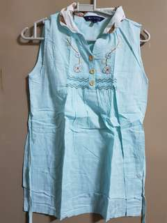 Periwinkle Girl's Blouse