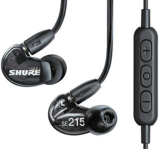 Shure SE215 Wireless Sound Isolating Earphones