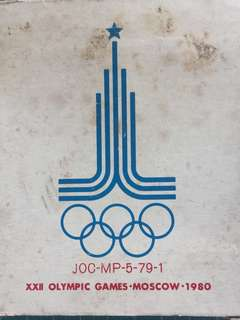 Japan XXII Olympic Games -Moscow Medal Year 1980