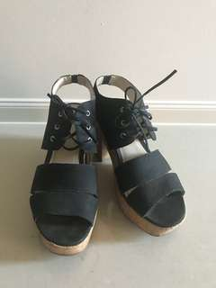 Wittner Platform Shoes Size 38