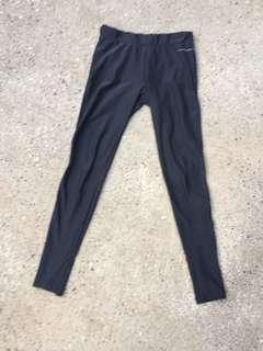 Running bare full length tights