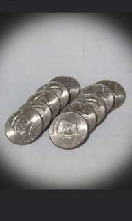 美金五毫10個