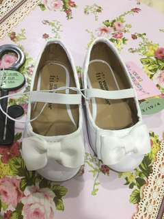 [N] baby shoes white colour from UK (size 3 uk)