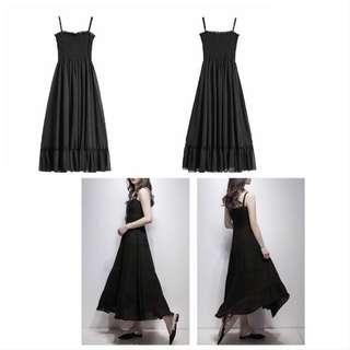 Elegan Sunshine Beach One-piece Long Dress