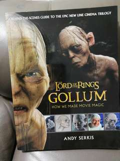 Gollum - lord of the ring (hardcover)