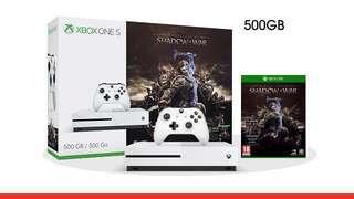 Brand New Xbox One S shadow of war bundle 500GB(sealed)
