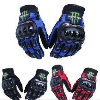 BN Monsters Motorbike Gloves
