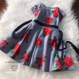 English Cotton Floral Dress