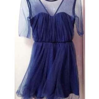 BNWT love Bonito mesh tulle dress