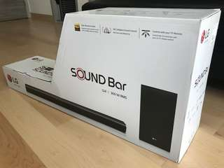 100% NEW LG Sound Bar