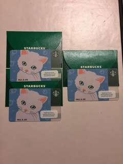 Limited Starbucks Card Paul and Joe