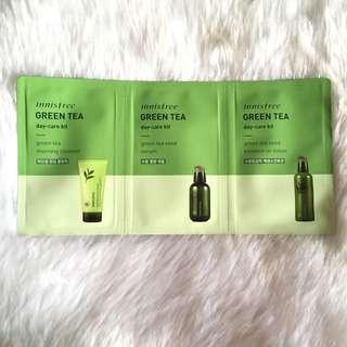 Innisfree green tea day care kit