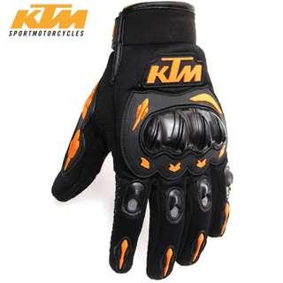 BN KTM Motorbike Gloves