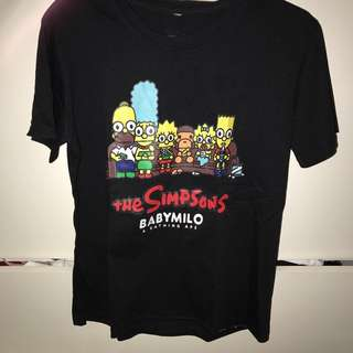 The simpsons tee
