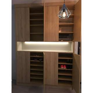 Customized Shoe Cabinet