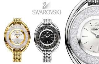 🚚 九五成新施華洛世奇手錶