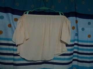 See-through off shoulder bundle
