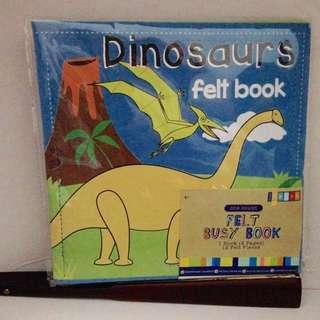 Felt Busy Book - Dinosaurs